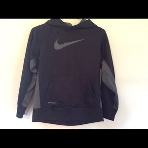 Nike youth pull over thermal hoodie